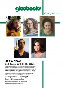 OzYA Now! Event Poster